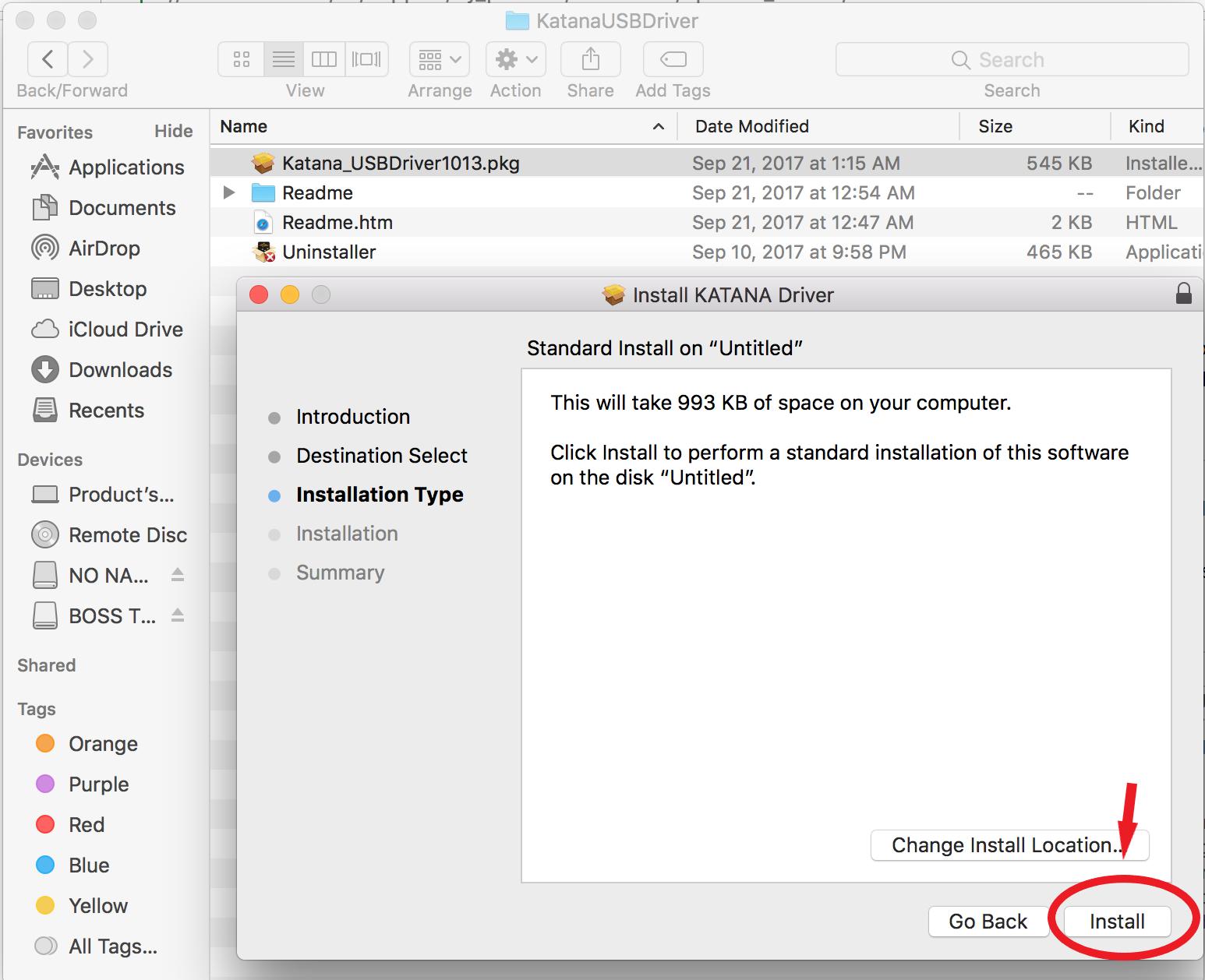 USB DEVICE DRIVER ISSUE: MAC OS X 10 13 HIGH SIERRA SECURITY