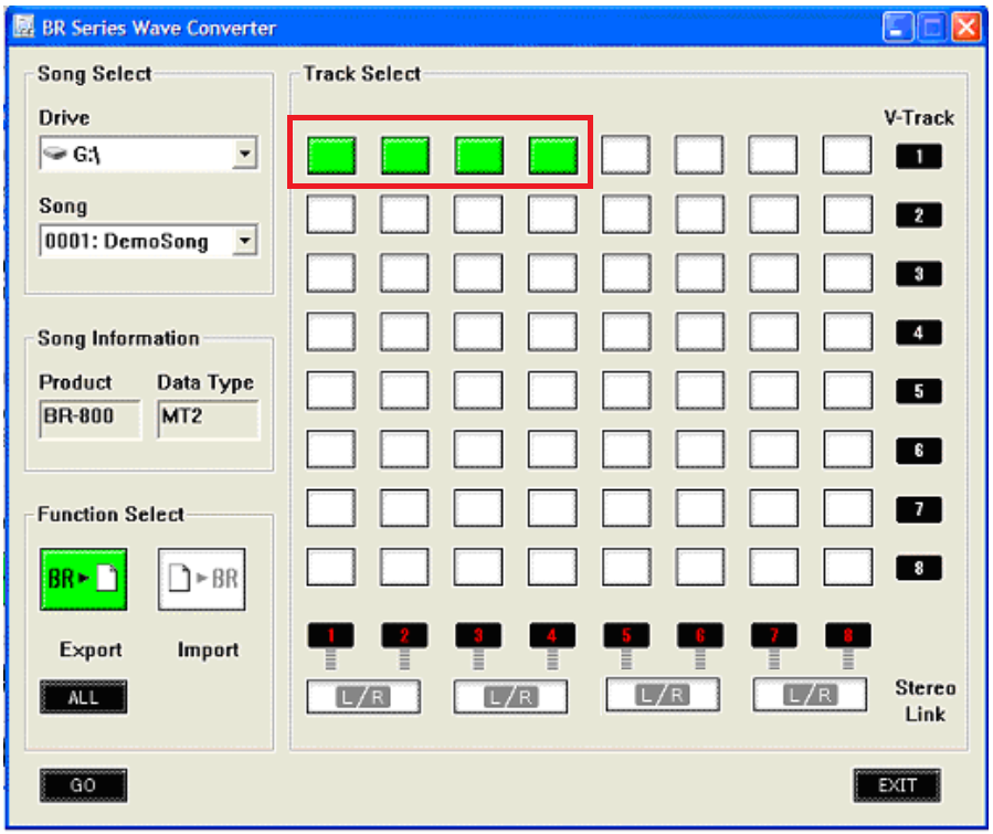 MICRO BR®: How to Use the BR Wav Converter Software – Roland Corporation