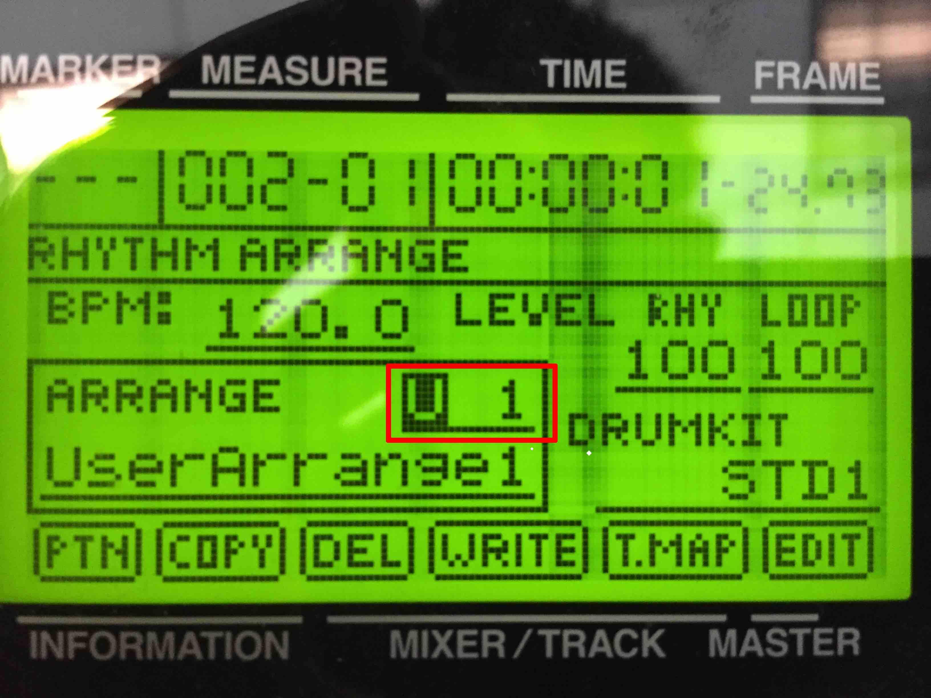 how to set metronome wonderwall